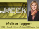 THE WEEK – Episode 105: An InfoComm 2015 Special Podcast: InfoComm's Melissa Taggart