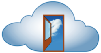 cloud-computing door