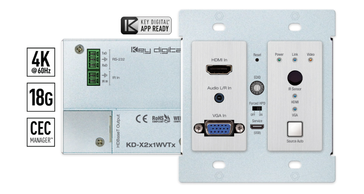 New KD-X2x1WVTx Debuts from Key Digital