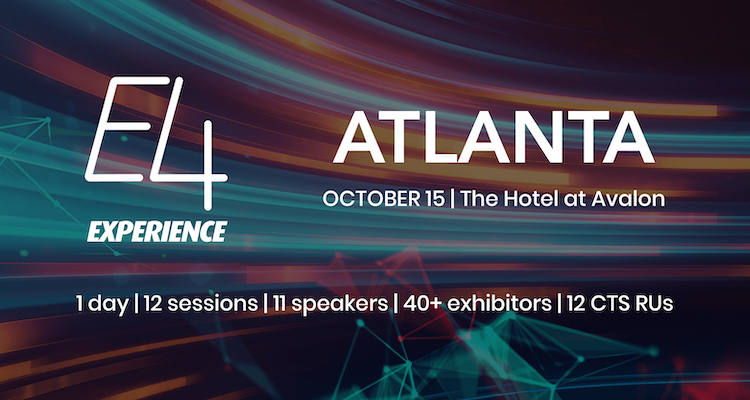 Almo Pro A/V E4 Experience Stops in Atlanta October 15th