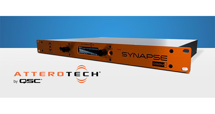 QSC Attero Tech Synapse D32Mi networked audio interface
