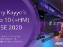Here's a Breakdown of My Top 10 From ISE 2020