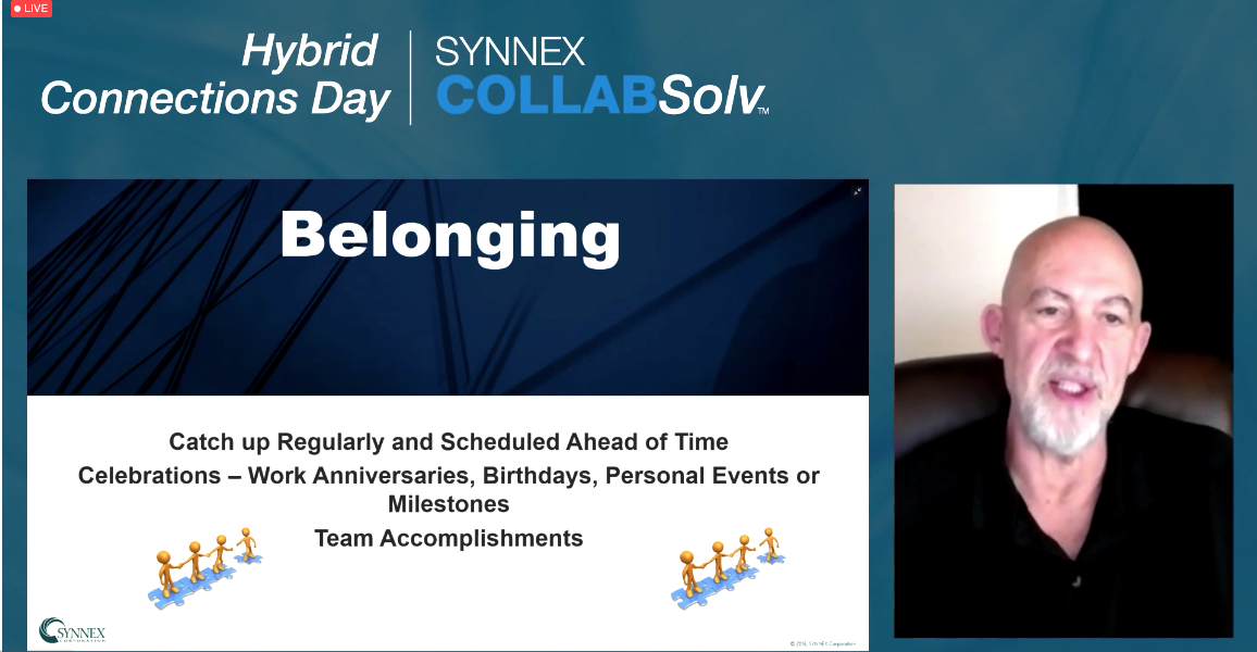 SYNNEX Value Session Speaker Mike Fleetwood