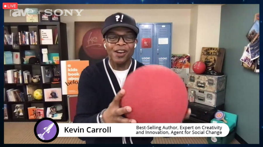 Kevin Carroll with His Red Rubber Ball