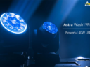 Prolights Debuts Astra Wash Series Moving-Wash Lights