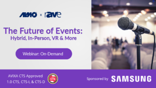 Webinar | The Future of Events Hybrid, In-Person, VR & More