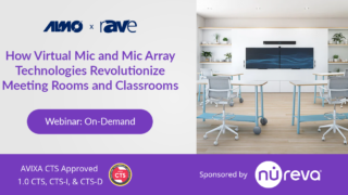 Webinar | How Virtual Mic and Mic-Array Technologies Revolutionize Meeting Rooms and Classrooms
