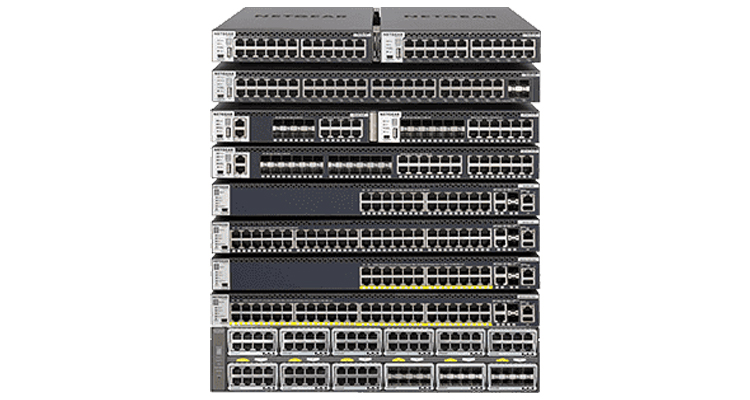 NETGEAR M4250 and M4300 Pro AV series switches with Extron