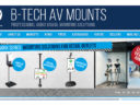 B-Tech AV Mounts Partners With Almo Pro A/V and TD SYNNEX for US and Canadian Distribution